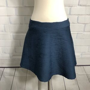 Topshop Navy Blue Circle Skirt